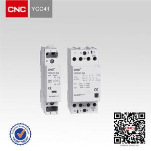 CNC AC Contactor Ycc41 (HsLa) (household contactor) Modular AC Contactor (YCC41) pictures & photos