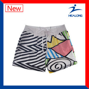 Healong Latest Design Beach Wear Quick-Dry Sublimation Printing Beach Shorts pictures & photos