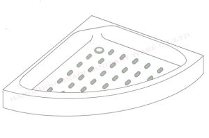 Anti Slip Shower Tray Shower Basel with Lower Prices pictures & photos