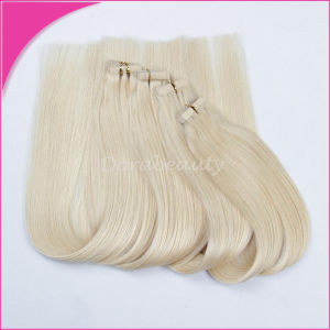Blond Tape Hair Brazilian Human Hair Extension pictures & photos