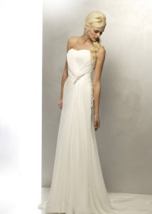 Sheath Popular Wedding Dress (W0002)