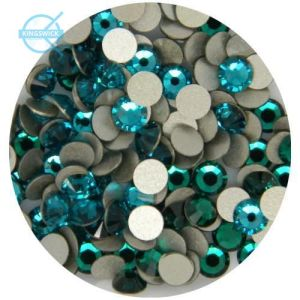 1440 PCS Ss10 (2.8mm) High Quality Crystal Flatback Rhinestones - 2028 Teal Blue (Zircon 229) Non Hotfix pictures & photos