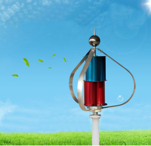 Solar and Wind Hybrid System 200W off-Grid Wind Generator Controlled Wind Mill for Home pictures & photos