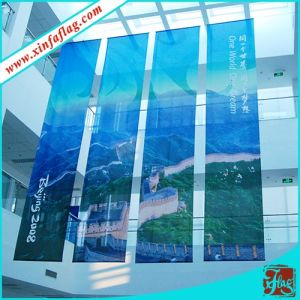 Customized Design High Quality Hanging Banner/Flag Banner pictures & photos