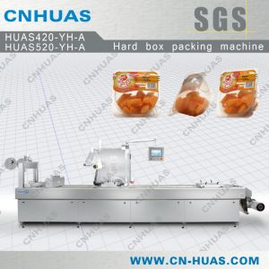 Hard Box Modified Atmosphere Packing Machine for Fruits, Vegetables and Salad