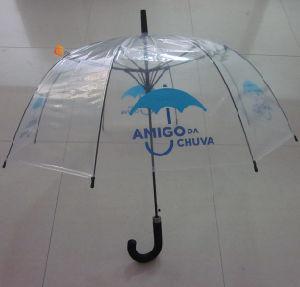 Plastic Fabric EVA J Handle Straight Pole Umbrella (YS-S001A) pictures & photos