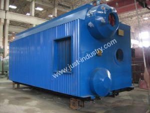 D Type Gas Fired Water Tube Industrial Steam Boiler or Hot Water Boiler