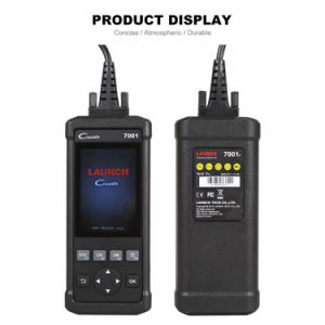 Original Launch DIY Code Reader Creader 7001f Full OBD2 Scanner/Scan Tool with Oil/Epb/BMS/ABS Bleeding Resets Service Cr7001f pictures & photos