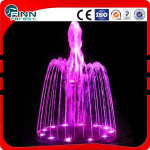 Music Style Garden Decoration Mini Fountain with LED Light pictures & photos