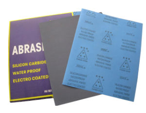 Silicon Carbide Waterproof Abrasive Sand Paper (001301)