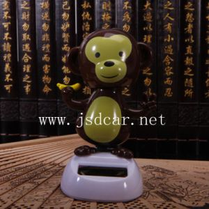 Solar Hip-Hop Monkey Automatic Swing Car Furnishing Articles (JSD-P0061) pictures & photos