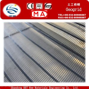 High Tensile Uniaxial Plastic Geogrid pictures & photos
