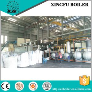 Fully Continuous Waste Tyre Pyrolysis Plant with EU Emission Standard pictures & photos