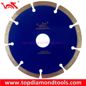 Hot Press Sintered Segmented Diamond Saw Blade pictures & photos
