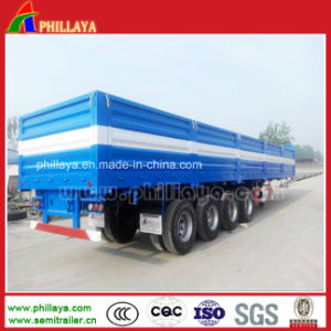 Top Open Side Wall Removable Truck Semi Cargo Box Trailer pictures & photos