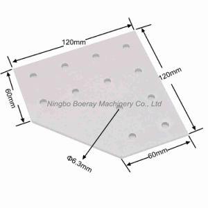 12 Hole T Slot Aluminum Profile Joint Plate pictures & photos