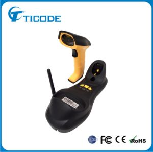 Handheld Wireless Laser Barcode Reader with Receiver (TS4500)