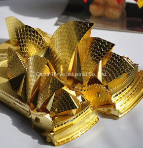3D Metal Model -Sydney Opera House pictures & photos