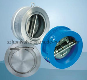 Wafer Type Duo Plate Check Valve pictures & photos
