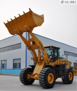 5 Tons Front Wheel Loader Yn959 pictures & photos