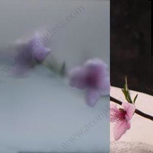 3mm, 4mm, 5mm, 6mm, 8mm, 10mm, 12mm Blue Acid Etched Glass pictures & photos
