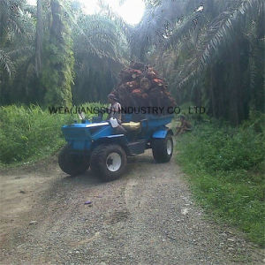 China Supplier 4 Wheel Drive Mini Oil Palm Tractor pictures & photos
