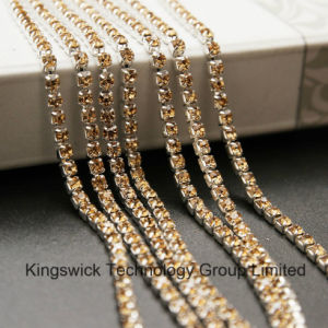 Wholesale Crystal Rhinestone Cup Chain for Jewelry Findings pictures & photos