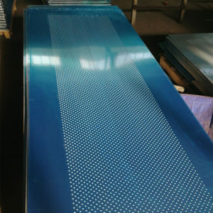 Aluminum Round Hole Perforated Sheets pictures & photos
