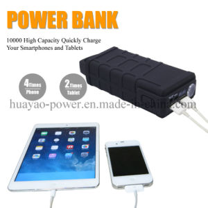 10000mAh 600A Portable Jump Starter Emergency Power Supply Lithium Battery pictures & photos