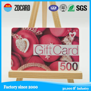 Printing Plastic PVC Gift Cards with Magnetic Strip pictures & photos