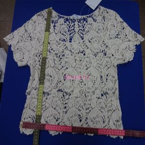 Fashion Laday′s Crochet Lace Top