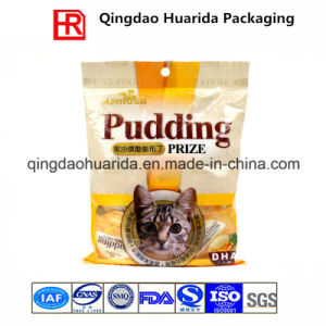 Custom Logo Printed Heat Seal Plastic Cat Food Packaging Bag pictures & photos