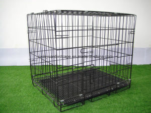 High Quality Cheap Iron Fence Dog Kennel Folding Dog Cage pictures & photos