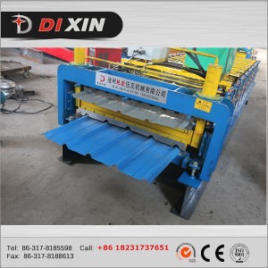Steel Structure Hotel Building Galvanized Roofing Sheet Roll Forming Machine pictures & photos