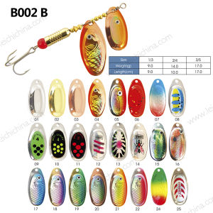 Metal Colorful Fishing Spoon Lure pictures & photos