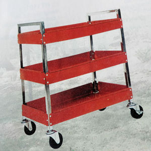 Three Layers Strong Metal Four Wheels Service Cart pictures & photos