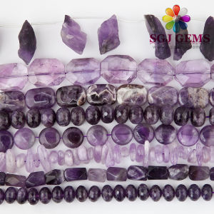 Amethyst Beads Semi Precious Stone Beads for Fashion Jewelry