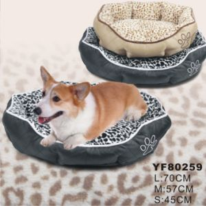 Waterproof Quality Fabric W/Leoporal Fur Beds (YF80259) pictures & photos