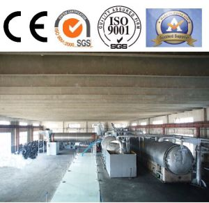 Waste Rubber Distillation Equipment for Carbon Black and Fuel Oil pictures & photos