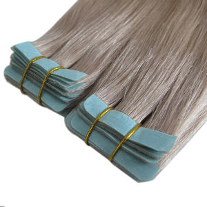 Wholesale Straight Skin Weft Remy Human Hair Extension pictures & photos
