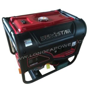 5kVA Eurostar Portable Electric Petrol Home Generator pictures & photos