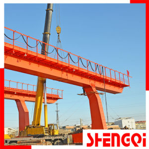150t Double Girder Gantry Crane, Outdoor Heavy Duty Crane pictures & photos