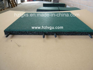 Plastic-Pipe Green EPDM Rubber Floor Mat pictures & photos