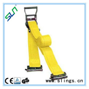 Long Handle Ratchet Strap with E Track Fittings Sln Ce GS pictures & photos