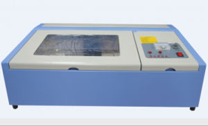 40W Desktop Laser Engraver, 200mm*300mm, Laser Cutting Machine for Stamp pictures & photos