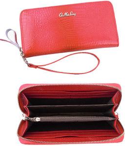 Women Lady Leather Wristlet Wallet Purse pictures & photos