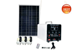 Portable Solar System for Lighting and Charging Fs-S202
