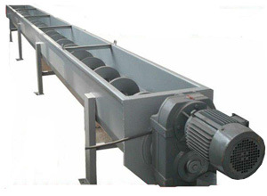 Auger Feeders/Screw Conveyor for Waste Management