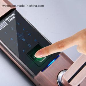 Password Biometric Fingerprint Locks (V6160FP) pictures & photos