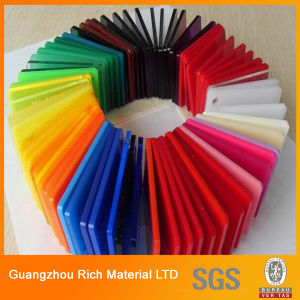 Color Cast Acrylic/PMMA/Plexiglass/Perspex Sheet for Advertising pictures & photos